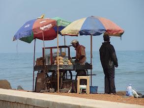 Photo: ananas sur le plage