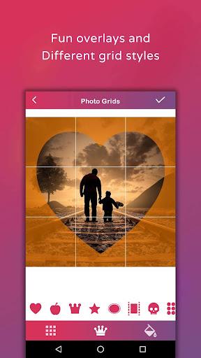 Grid Post - Photo Grid Maker for Instagram Profile screenshots 14