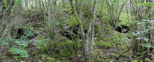 Photo: De steengroeve van Haudraumont is de plaats waar de Duitsers het dichtst bij Verdun zijn gekomen.