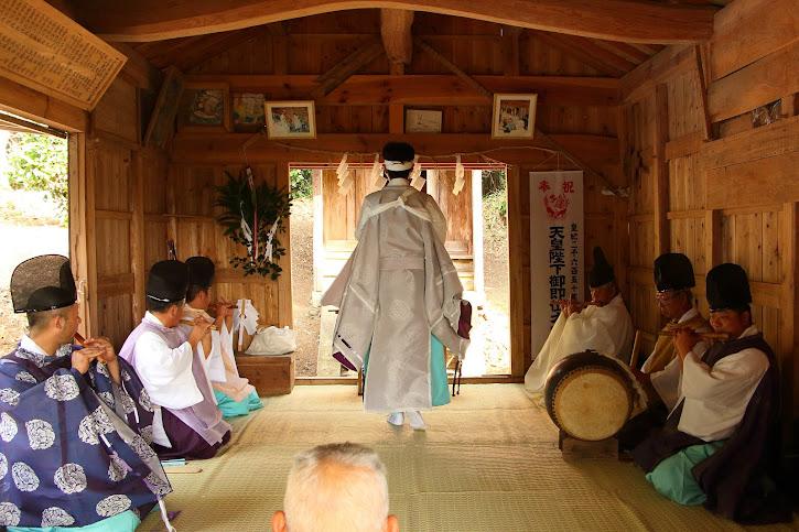 小島神社の神事
