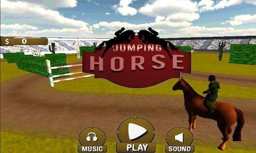 Horse Jumping Game 3D 2015-16