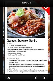 Resep Sambal Indonesia - náhled