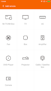 Mi Remote controller for TV/AC- screenshot thumbnail