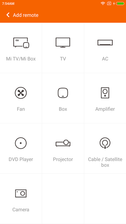 Mi Remote controller for TV/AC- screenshot