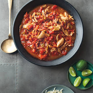 Slow-Cooker Chicken Enchilada Stew.