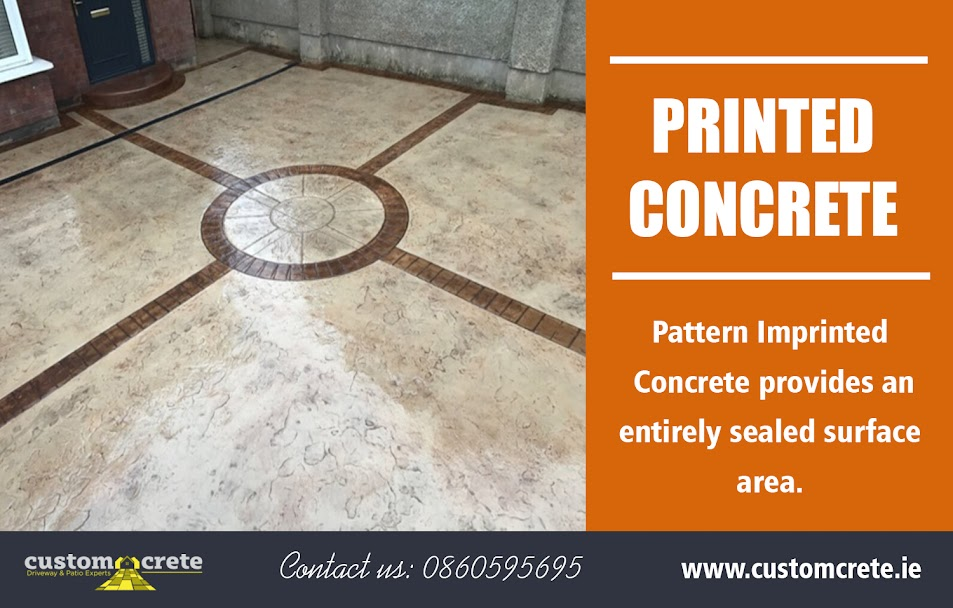 printed concrete