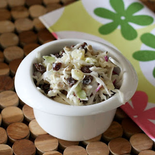 Creamy Coleslaw With Pineapple.