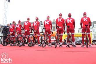 Photo: 16-04-2017: Wielrennen: Amstel Goldrace: ValkenburgTeam Katusha Alpecin, start, podium, presentatie