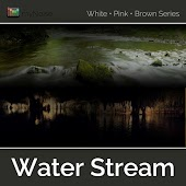 Water Stream (White Pink Brown Series)