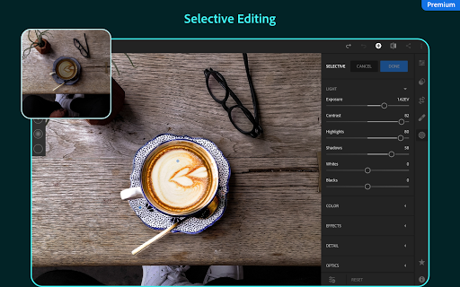 Adobe Lightroom - Photo Editor & Pro Camera 5.1 screenshots 14