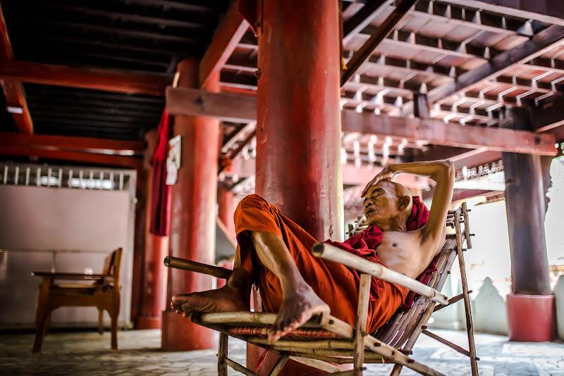 monaco buddista di arketettie