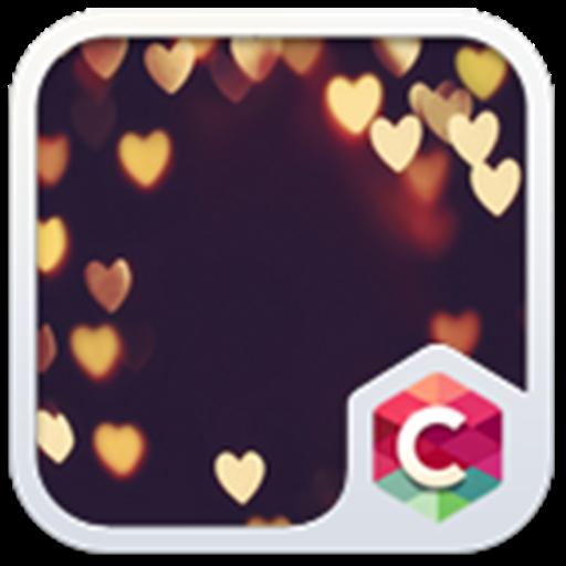 Gold Heart Theme C Launcher