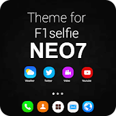 Theme and launcher for F1 Selfie Neo 7