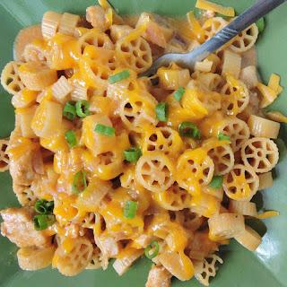 Skillet BBQ Chicken Pasta Recipe