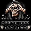 Grim Reaper Skull Love Keyboard Theme icon