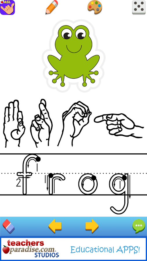 ASL American Sign Language- screenshot
