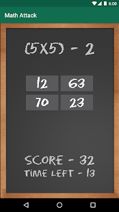 Math Attack- screenshot thumbnail