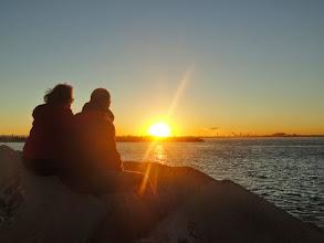 Photo: Enjoying the sunset