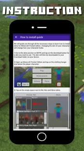Boys skins for Minecraft - náhled