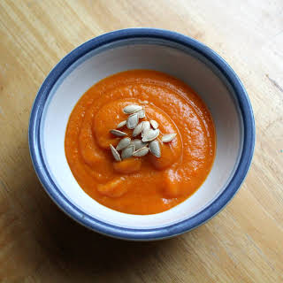 Smokey Butternut Squash and Carrot Soup.