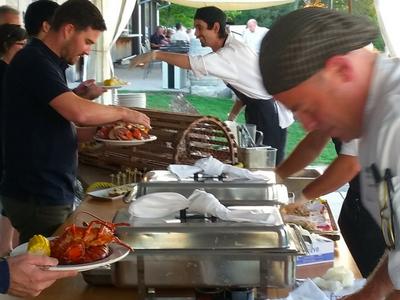 Ravine Vineyard Lobster Boil
