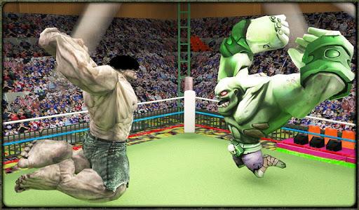 Incredible Monster Superheroes Ring Battle  screenshots 14