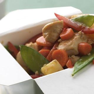 Skinny Chicken-Pineapple Stir-Fry.