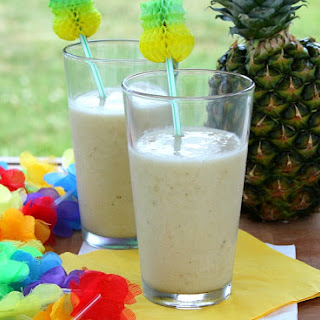 Coconut Pineapple Banana Smoothie ( A Baby Shower)