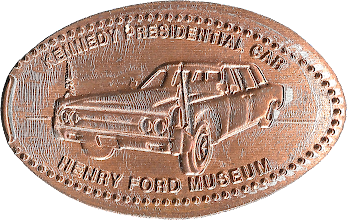 Photo: Kennedy Assassination Car penny