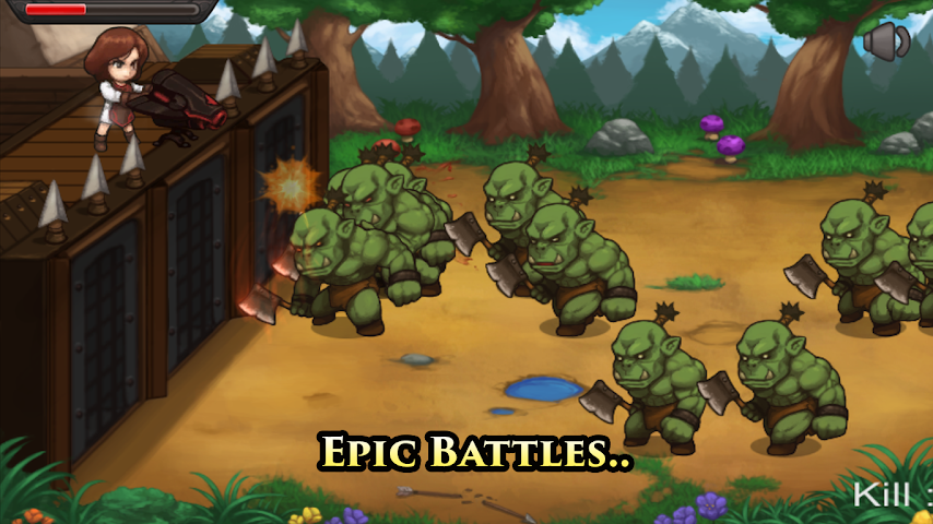 android Castle Hero Defense Pro Screenshot 2