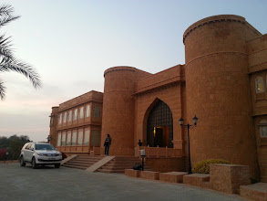Photo: out hotel in jaisalmer