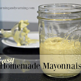 Easy Homemade Mayonnaise Recipe