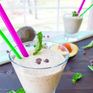 Healthy Mint Chip Smoothie/Shake