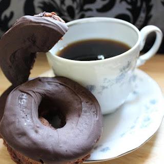 Chocolate Glazed Chocolate Donuts - Vegan Adaptable Recipe