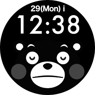 Face Watch (KUMAMON Ver.) 1.0 Windows u7528 5