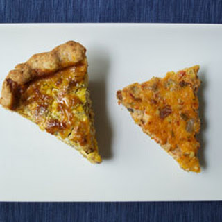 Crustless Roasted Tomato Quiche