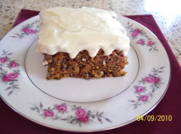 Tennessee Carrot Cake Recipe