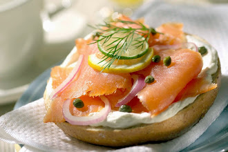 Photo: salmone e formaggio