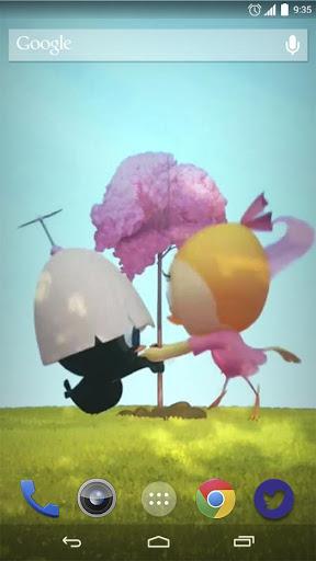 Cartoon Ducks Dance LiveWP