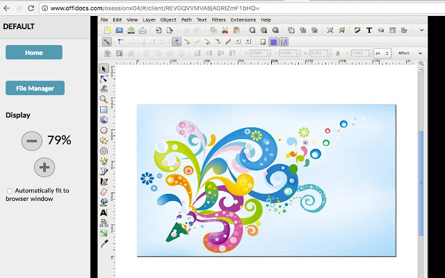 Inkscape Editor For Draws And Graphics