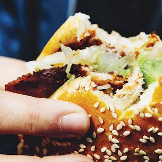 Breaded Chicken Sandwiches with Sesame Rolls (*Cemita Poblana De Milanesa*) Recipe | Epicurious.Com Recipe