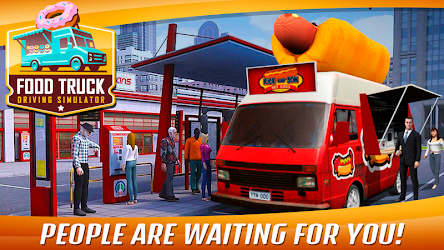 Food Truck Driving Simulator