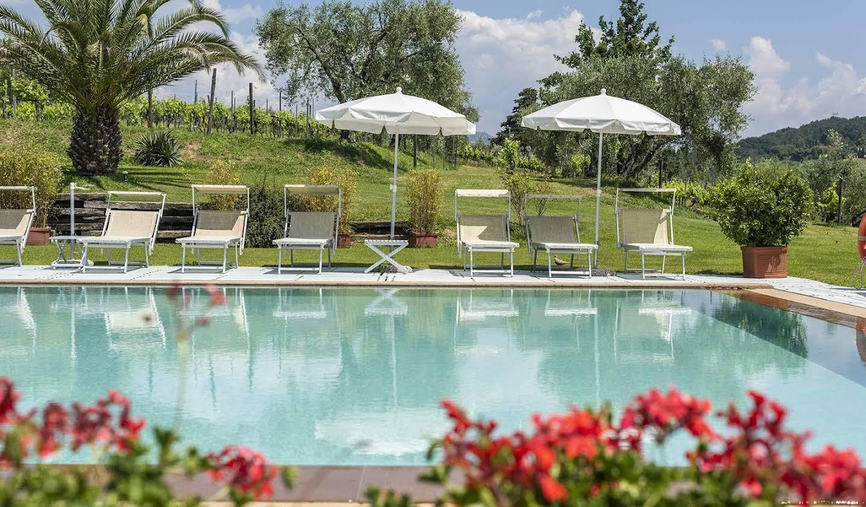 Villa with garden and terrace Montecarlo