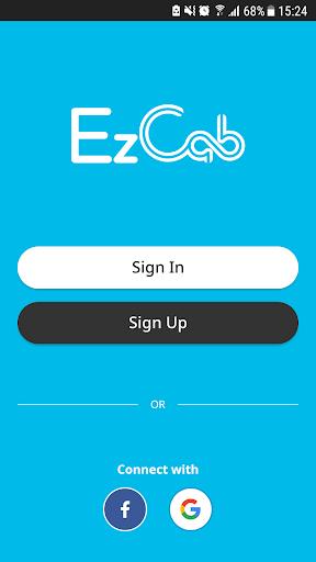 EzCab - Car & Taxi Ride Hailing App ss1