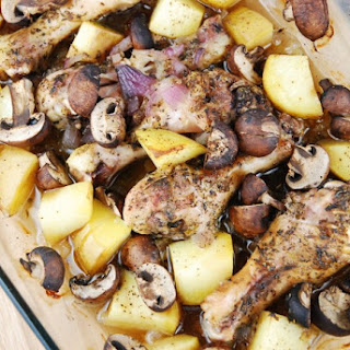 Spanish Chicken and Potato Roast.