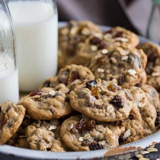 Soft & Chewy Oatmeal Raisin Cookies.