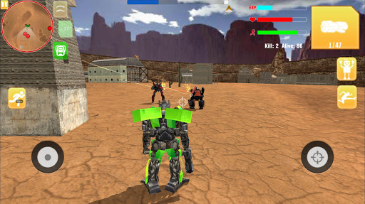 Robot War Free Fire - Survival battleground Squad 1.0 de.gamequotes.net 5