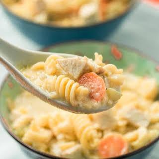 Pork Noodle Soup.