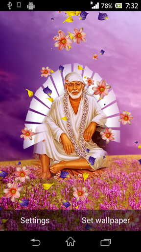 Shirdi Sai Baba Live Wallpaper 6.1.0 screenshots 2