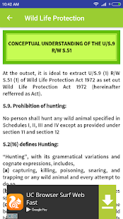 Wildlife Protection Act, 1972 - náhled